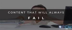CONTENT FAIL