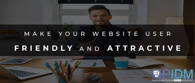 Make your website friendly