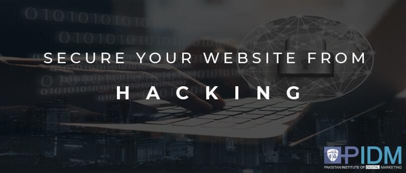 secur website from hacking