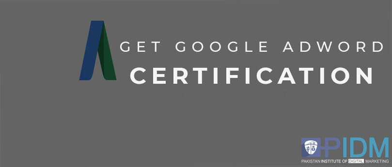 To get google adwords certification