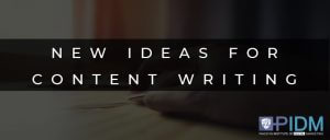 new ideas for content writing