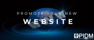 Promote your new website