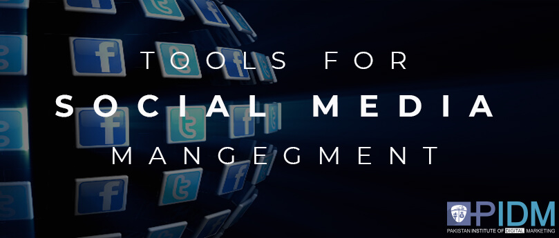 Tools for social media management